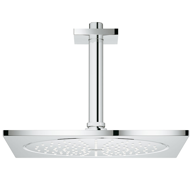 Верхний душ Grohe Rainshower F-series 26061000 254 мм с кронштейном