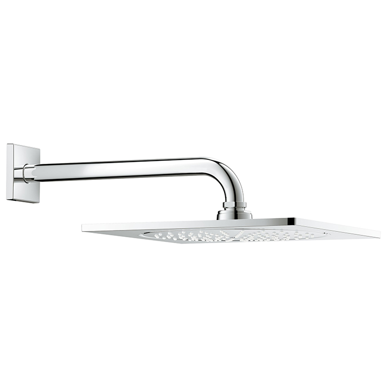 Верхний душ Grohe Rainshower F-series 26060000 254 мм с кронштейном